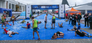 poznan marathon finish