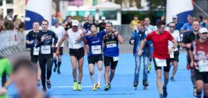 poznan marathon finish