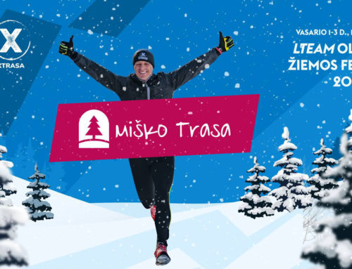 Miško trasa – лесной зимний трейл 10км