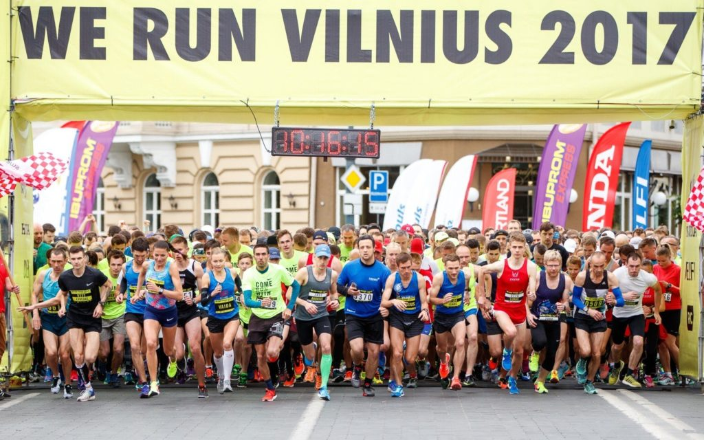 we run vilnius start